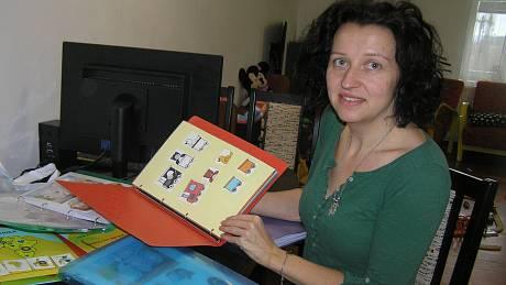Dagmar Šimková, autorka  unikátních knih pro děti.