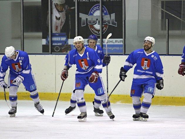 Neproměněné šance rozhodly o prohře světelských hokejistů v prvním finále Krajské ligy v domácím prostředí s Moravskou Třebovou.