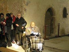 Proslulý sochař Olbram Zoubek už překročil devadesátku.