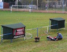 Do závlahového systému sportoviště investovala Víska desítky tisíc z dotací.