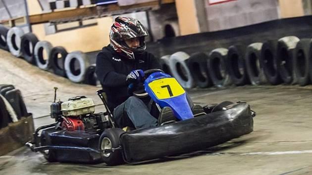Šampion. Vítězem Havlíčkobrodského motokárového šampionátu se v letošním roce stal Pavel Nejezchleba.