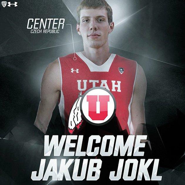 Když se Jakub Jokl rozhodl na konci května pro nabídku z Utahu, představilo vedení klubu svou novou posilu na své sociální síti Twitter tímto snímkem.
