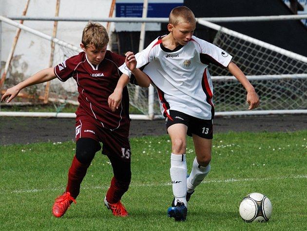 Smolné utkání. To sehráli proti FC Vysočina Jihlava starší žáci U15, které soupeř potrestal ze dvou brejků. Naopak domácí své šance nedokázali využít.