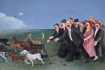 Výstava Pavla Matušky. V pandemiích my chodit umíme
