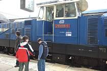 Na havlíčkobrodském vlakovém nádraží se pro žáky základních škol konala zážitková akce zaměřená na bližší seznámení s železniční problematikou.