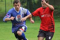 Výprask schytali na vlastním hřišti fotbalisté České Bělé. Ti sice v poločase hráli s Leštinou B 1:1, ale nakonec prohráli 1:6.