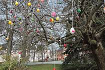 Velikonoce jsou tady. V Chotěboři si vyzdobili náměstí