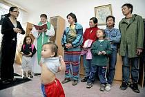 Barmská rodina našla nový domov v Přibyslavi.