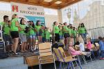 Festival Bez bariér jsme si blíž - kapela Jitro v podání Základní a praktické školy U Trojice.