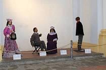 Originální výstava voskových figurín začíná ve středu 28. srpna v prostorách Skautu v Havlíčkově Brodě.