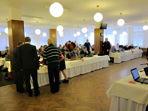 Konference šachového svazu ČR.