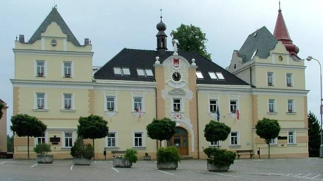 Radnice ve Světlé nad Sázavou.