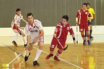 Jedním z odcházejících hráčů je obránce Martin Peš (č. 12).