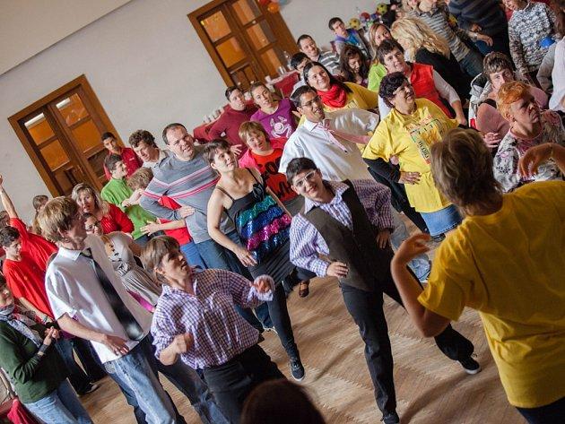 Taneční soutěž.