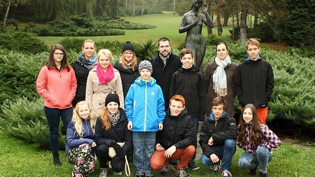 Partnerské město Sliač na Slovensku navštivili žáci a učitelé z přibyslavské pobočky ZUŠ J. V. Stamice Havlíčkův Brod.