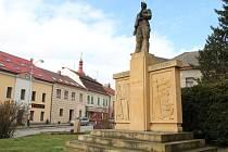 Památník v Přibyslavi.