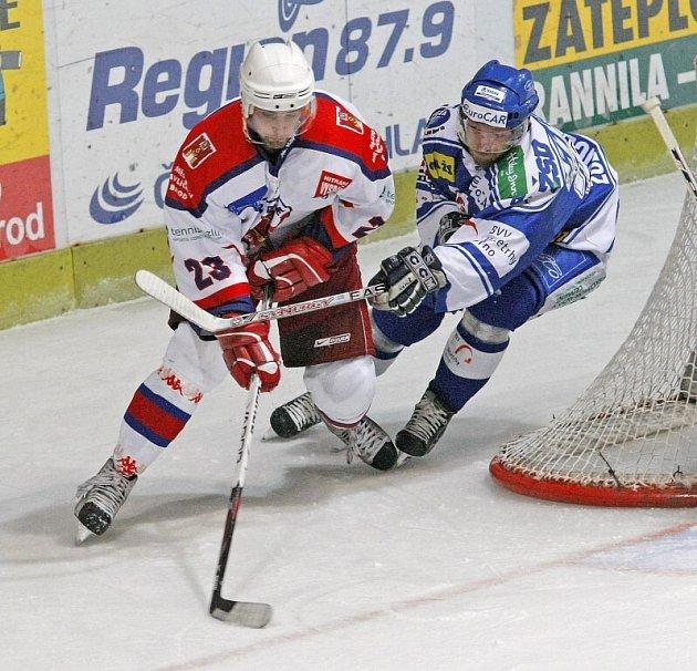 Ze zápasu HC Rebel - HC Kometa Brno.
