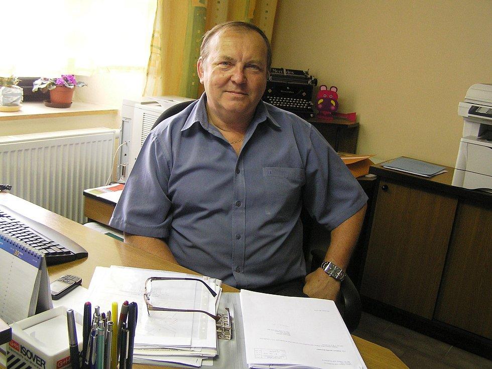 Bývalý starosta Jan Martinec ze Ždírce nad Doubravou.