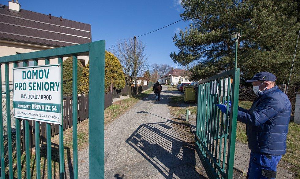 Domov pro seniory v Břevnici u Havlíčkova Brodu.