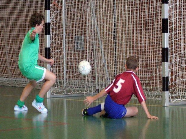 Je to gól. Třebíčská hala ožila na dva dny futsalem. Zde se mužstva předvedla v kategoriích přípravek, žáků, ale i žen.