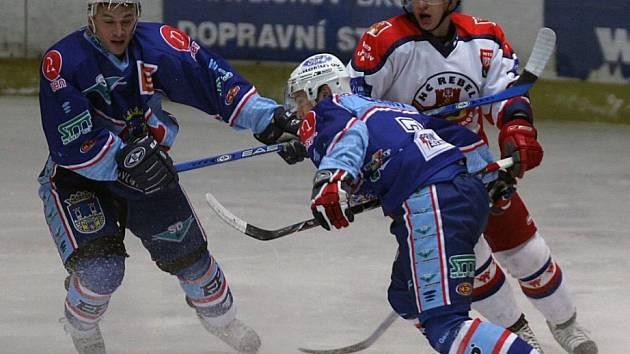 Hokejisté Havlíčkova Brodu sice favorita zle potrápili, ale na úspěch to nestačilo.