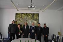 V Havlíčkově Brodě přijali 3. června 2021 Jaroslava Švandy na radnici u příležitosti jeho životního jubilea 75 let.