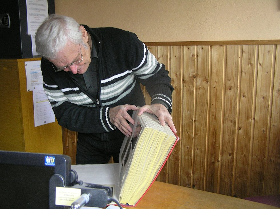 Starosta Podmoklan Milan Bičík.