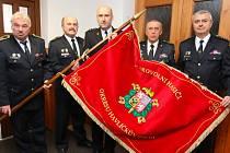 Nový prapor dobrovolných hasičů Havlíčkobrodska.