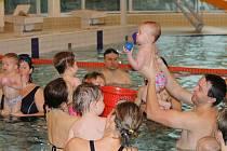 Plavání pro děti.