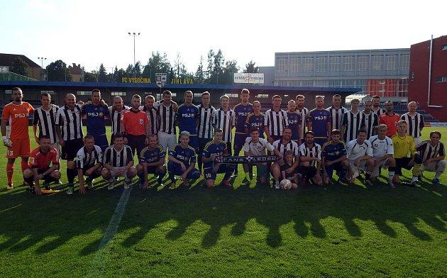 Ledečský klub dostal možnost zavítat do Jihlavy a sehrát utkání sdruholigovou Vysočinou. Jeho hráči sice prohráli 10:0, ale zápas si naplno užili.
