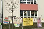 Školka v Lánské ulici ve Světlé přivítala Velikonoce výstavkou.