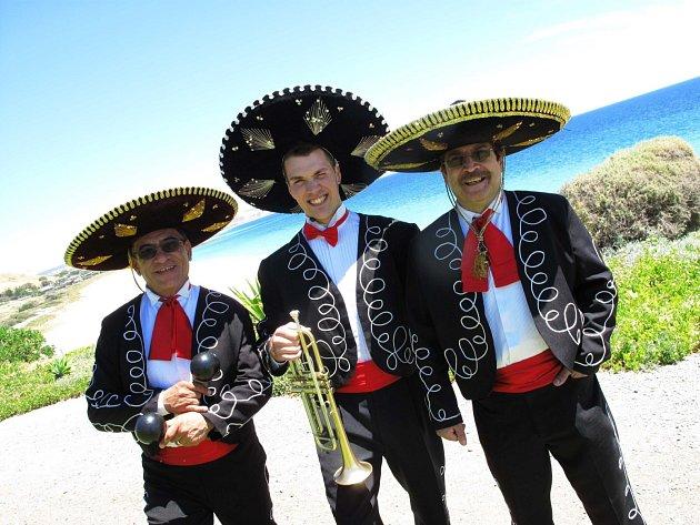 Mexická kapela Mariachi vystoupí v brodském gymnáziu.