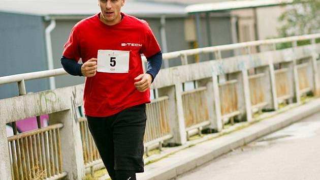 Tomáš Mutl trénuje na  Havlíčkobrodský půlmaraton.