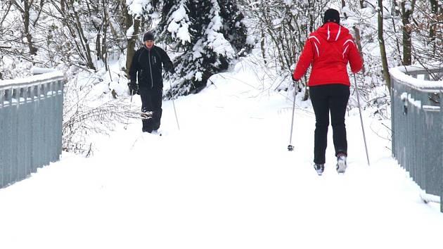 Pro pohodlí lyžařů.