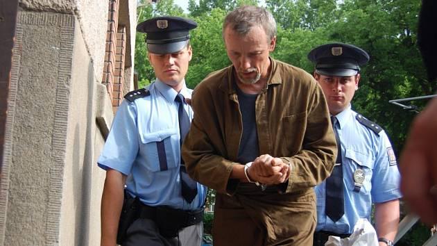 Slovenský pedofil Antonín Novák, který je obviněn z vraždy Jakuba.