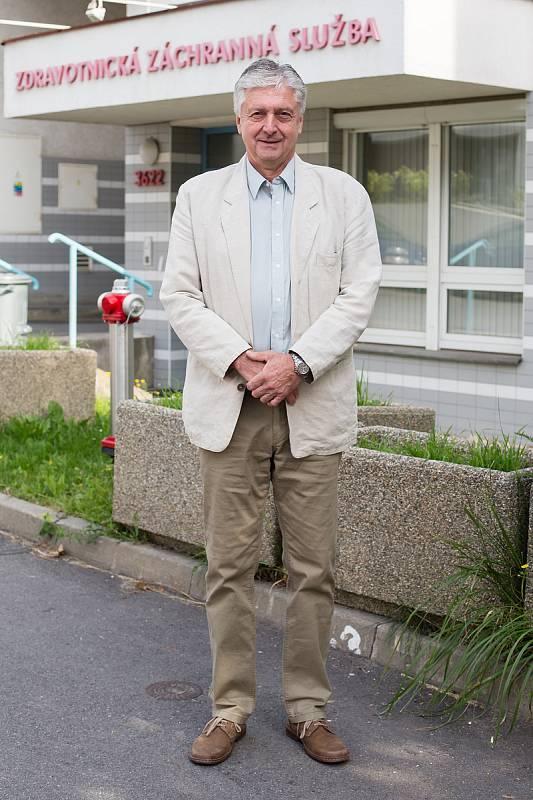 Lékař Aleš Ošťádal pracoval u Zdravotnické záchranné služby víc než 35 let.