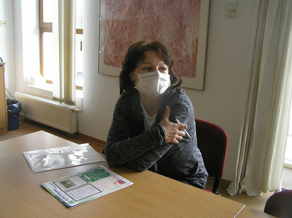 Očkovací centrum ve sportovní hale v Přibyslavi se otevřelo 28. dubna.