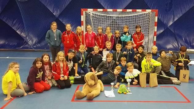 Mladší žáci oddílu házené TJ Jiskra Havlíčkův Brod se zúčastnili turnaje Pramínek cup v Pardubicích.