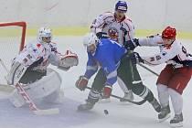 Hokejisté HC Rebel předvedli proti extraligové Plzni sympatický výkon. Třetí branku inkasovali až při power – play.