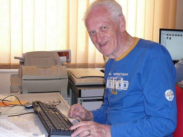 Sportovní redaktor Alois Svoboda.