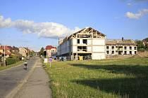 Stavební lokalita Na Koubku v Chotěboři.