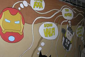 Brambory z Havlíčkobrodska na sebe vzaly podobu komiksových hrdinů.