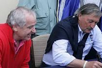 Ladislav Vízek a Antonín Panenka se společně po roční pauze opět sejdou v Havlíčkově Brodě jako patroni turnaje zdravotně postižených SENI cup.