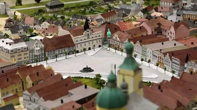 Součástí výstavy je 3D model Havlíčkova Brodu vystavený v prostorách Staré radnice, který zhotovili studenti Střední průmyslové školy stavební akademika Stanislava Bechyně.