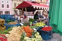 Farmářské trhy v Havlíčkově Brodě. Ilustrační foto.