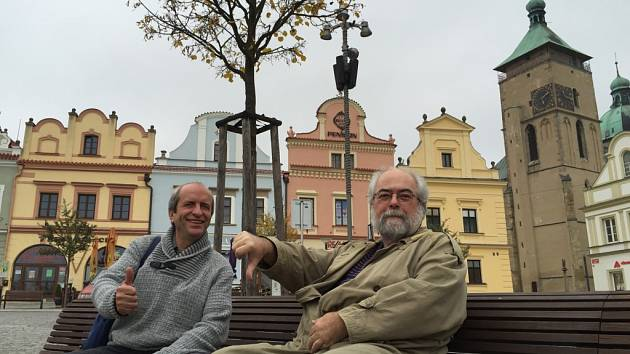 Tomáš Holenda a Jan Schneider.