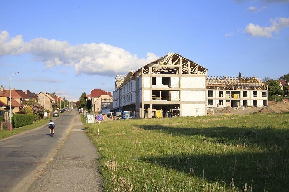 Lokalita Na Koubku v Chotěboři.