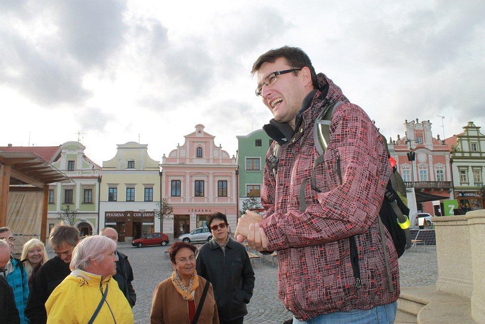 Pověsti na vlastní oči i nohy mohli ve středu zažít lidé v Havlíčkově Brodě.