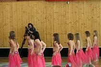 Sportovní hala v Přibyslavi je napěchovaná k prasknutí. Všude se tlačí rodiče a přátelé soutěžících. Samotní tanečníci Přibyslavského pantoflíčku vychází z šatny a v hale rozehrají své kreace a pečlivě secvičená vystoupení.