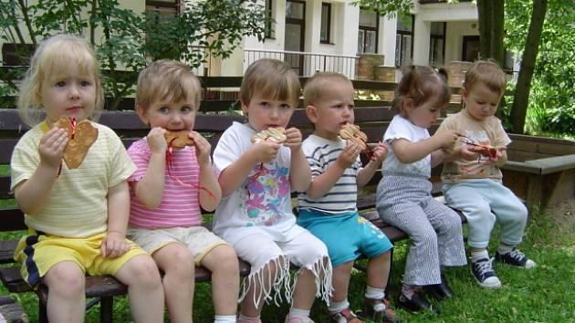 Hrát si dříve mohly nejmenší děti i na zahradě havlíčkobrodských jeslí, které jsou dnes opuštěné.